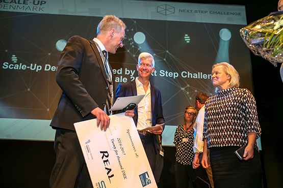 Award for real safety on next step challenge finale