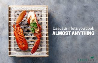 CasusGrill lets you cook almost anything