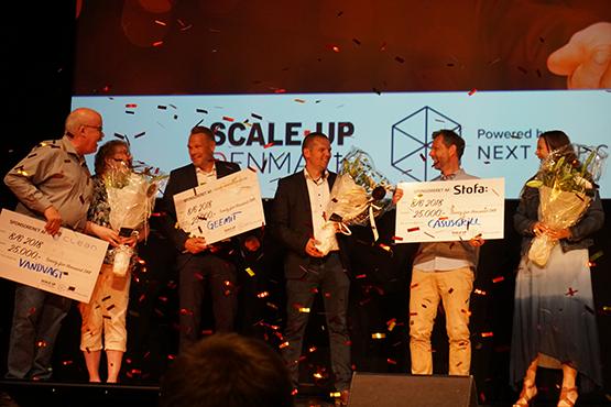 Klar til nye højder i din virksomhed? Vandvagt, Geemit og Casusgrill vandt årets Next Step Challenge finale