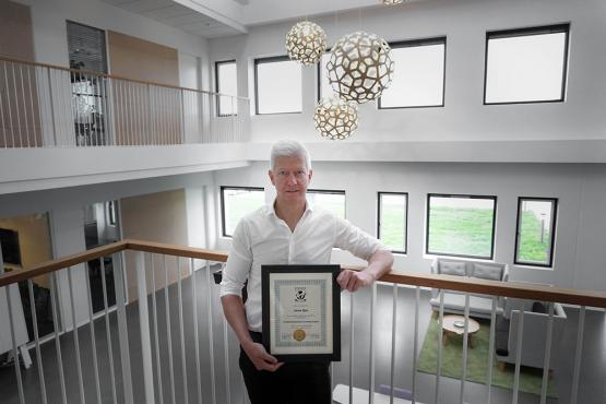 Søren Røn er certificeret Experience Economy Expert af Joe Pine Ohio