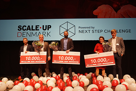 Vinderne i Next Step Challenge 2019